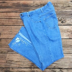 Juke Box high waist flare leg Jeans size 13/14